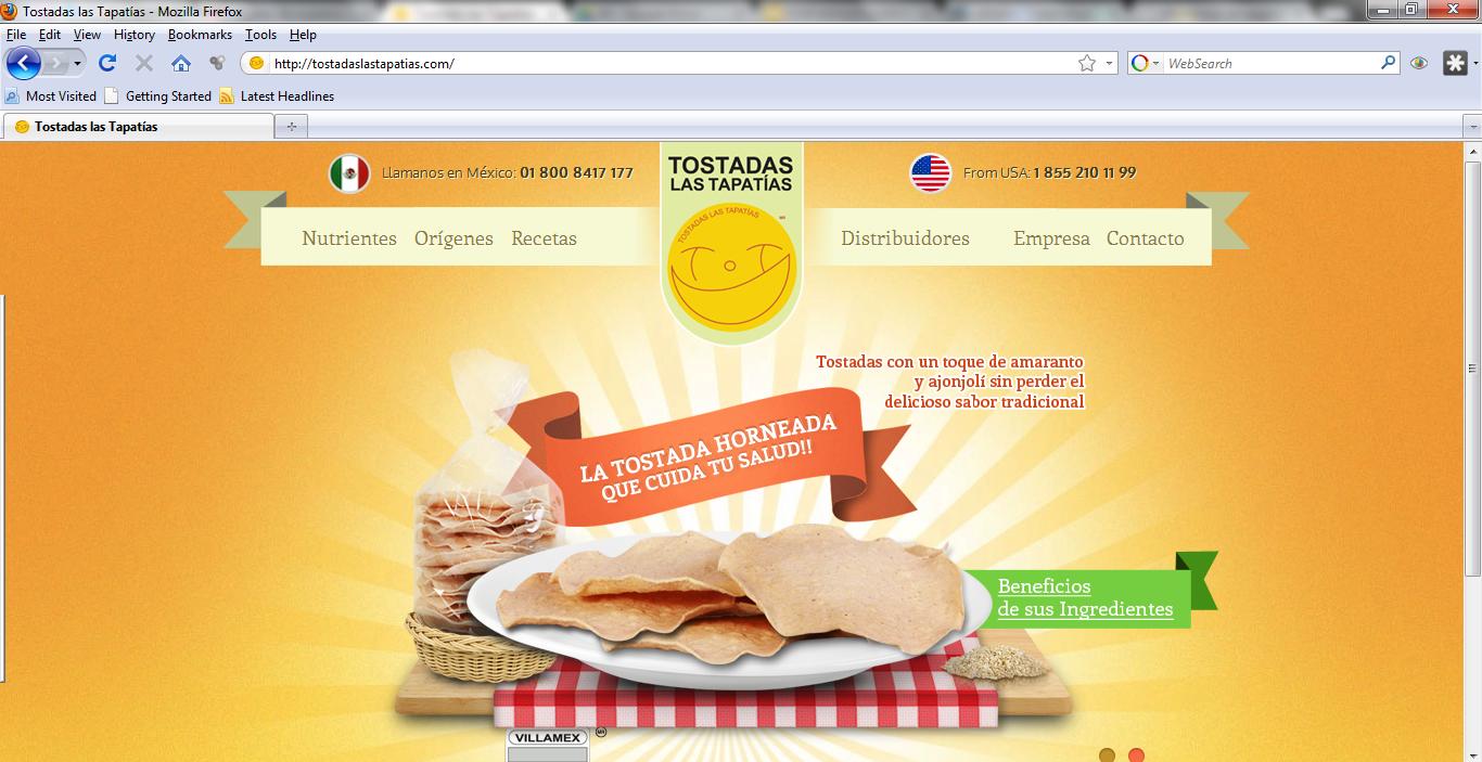 Empresa Tostadas Las Tapatias