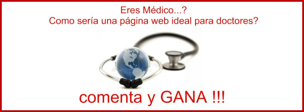como seria una pagina web ideal para doctores